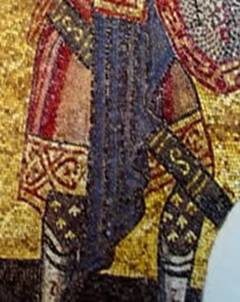 подол_1040 The Centurion at the Crucifixion,presented as an officer of the Varangian Guard